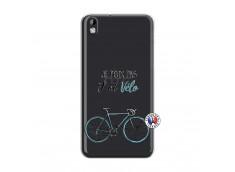 Coque HTC Desire 816 Je Peux Pas J Ai Velo