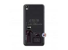 Coque HTC Desire 816 Je Peux Pas Je Suis Veterinaire