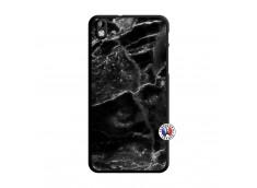 Coque HTC Desire 816 Black Marble Translu