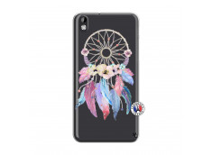 Coque HTC Desire 816 Multicolor Watercolor Floral Dreamcatcher