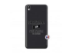 Coque HTC Desire 816 Oh Putain C Est L Heure De L Apero