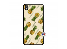 Coque HTC Desire 816 Sorbet Ananas Translu