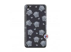 Coque HTC Desire 816 Petits Elephants