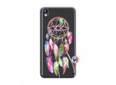 Coque HTC Desire 816 Pink Painted Dreamcatcher