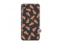 Coque HTC Desire 816 Petits Poissons Clown
