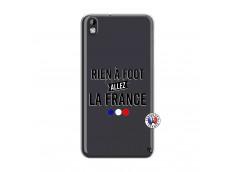 Coque HTC Desire 816 Rien A Foot Allez La France