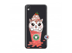 Coque HTC Desire 816 Catpucino Ice Cream