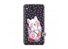 Coque HTC Desire 816 Smoothie Cat
