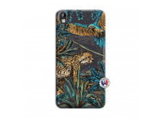 Coque HTC Desire 816 Leopard Jungle