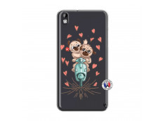 Coque HTC Desire 816 Puppies Love