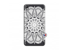 Coque HTC Desire 816 White Mandala