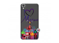 Coque HTC Desire 820 I Love Moscow