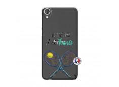 Coque HTC Desire 820 Je Peux Pas J Ai Tennis