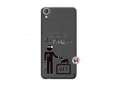 Coque HTC Desire 820 Je Peux Pas Je Suis Veterinaire