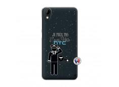 Coque HTC Desire 825 Je peux pas j'suis pilote