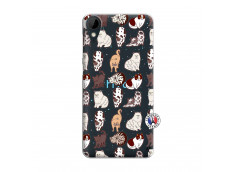 Coque HTC Desire 825 Cat Pattern