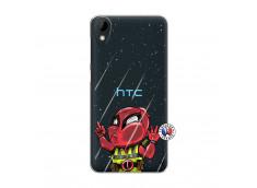 Coque HTC Desire 825 Dead Gilet Jaune Impact