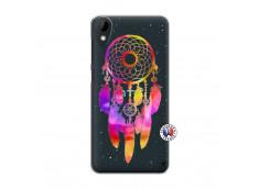 Coque HTC Desire 825 Dreamcatcher Rainbow Feathers