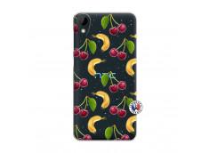 Coque HTC Desire 825 Hey Cherry, j'ai la Banane