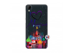 Coque HTC Desire 825 I Love Moscow