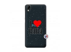 Coque HTC Desire 825 I Love Papa