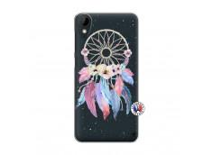 Coque HTC Desire 825 Multicolor Watercolor Floral Dreamcatcher