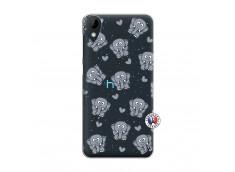 Coque HTC Desire 825 Petits Elephants