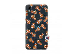 Coque HTC Desire 825 Petits Poissons Clown