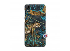 Coque HTC Desire 825 Leopard Jungle