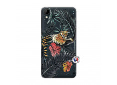 Coque HTC Desire 825 Leopard Tree
