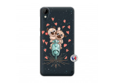 Coque HTC Desire 825 Puppies Love