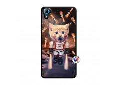 Coque HTC Desire 826 Cat Nasa Translu
