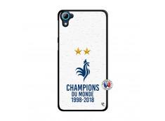 Coque HTC Desire 826 Champion Du Monde Translu