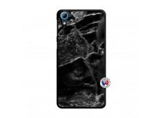 Coque HTC Desire 826 Black Marble Translu