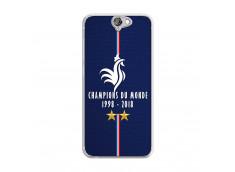 Coque Htc ONE A9 Champions Du Monde 1998 2018 Transparente