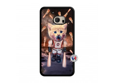 Coque HTC ONE M10 Cat Nasa Translu