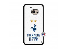 Coque HTC ONE M10 Champion Du Monde Translu