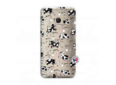 Coque HTC ONE M10 Cow Pattern