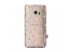 Coque HTC ONE M10 Flamingo