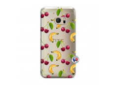 Coque HTC ONE M10 Hey Cherry, j'ai la Banane
