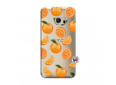 Coque HTC ONE M10 Orange Gina