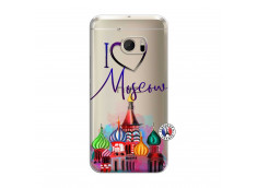 Coque HTC ONE M10 I Love Moscow
