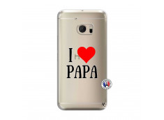 Coque HTC ONE M10 I Love Papa