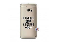 Coque HTC ONE M10 Je Dribble Comme Cristiano