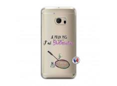 Coque HTC ONE M10 Je Peux Pas J Ai Badminton