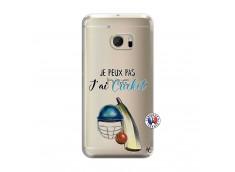 Coque HTC ONE M10 Je peux pas j'ai cricket