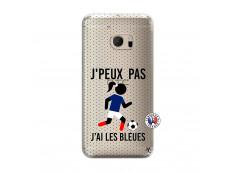 Coque HTC ONE M10 Je Peux Pas J Ai Les Bleues Maillot