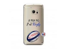 Coque HTC ONE M10 Je Peux Pas J Ai Rugby