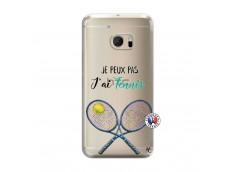 Coque HTC ONE M10 Je Peux Pas J Ai Tennis