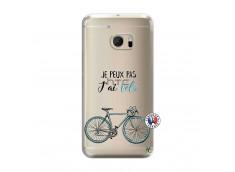 Coque HTC ONE M10 Je Peux Pas J Ai Velo